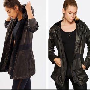 Alala Jacket Size M  Full Zip Hooded Windbreaker